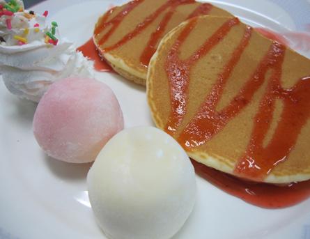 パンケーキ雪見大福